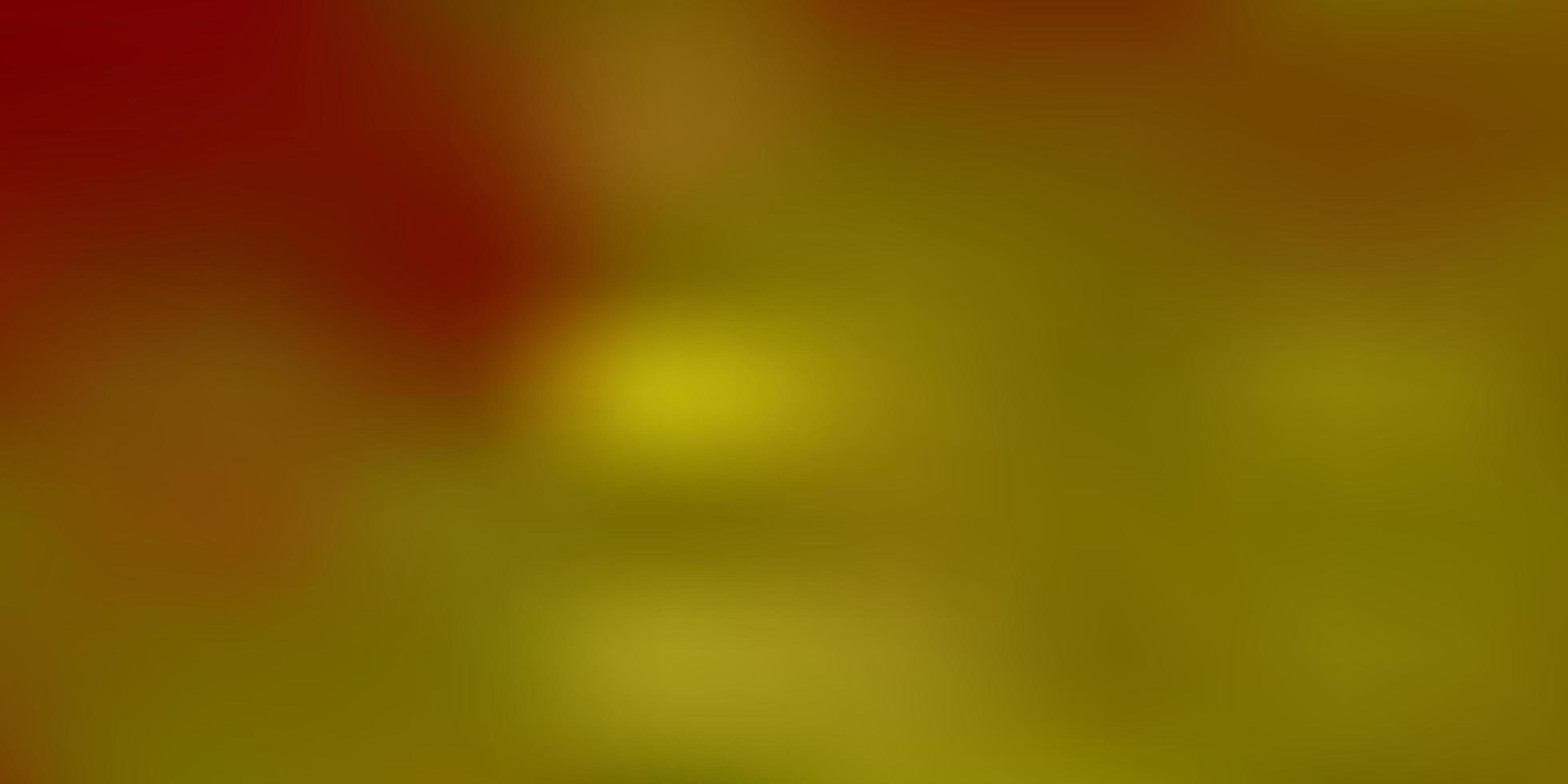 modello di sfocatura gradiente vettoriale giallo chiaro.