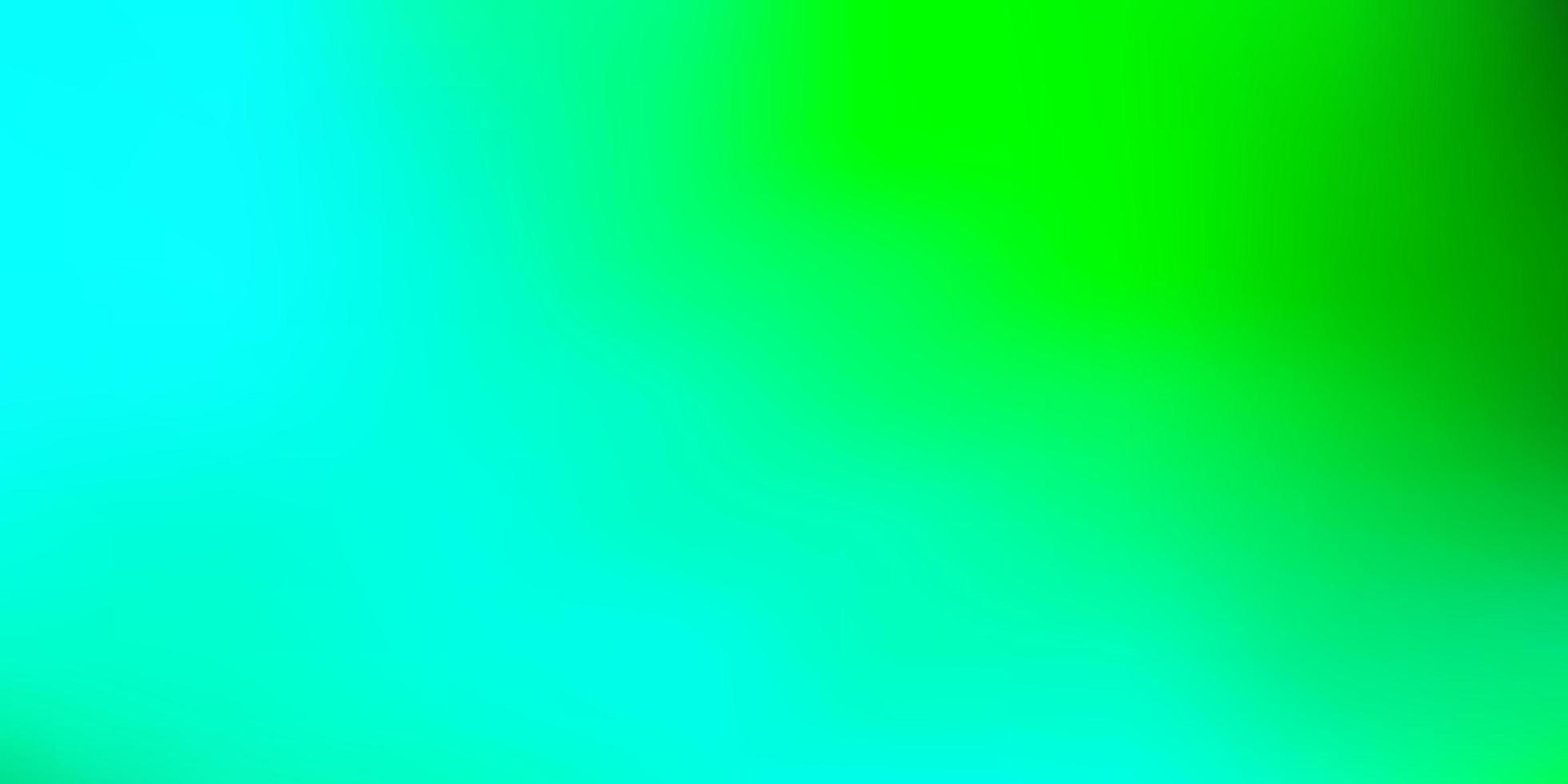 modello di sfocatura vettoriale verde chiaro.