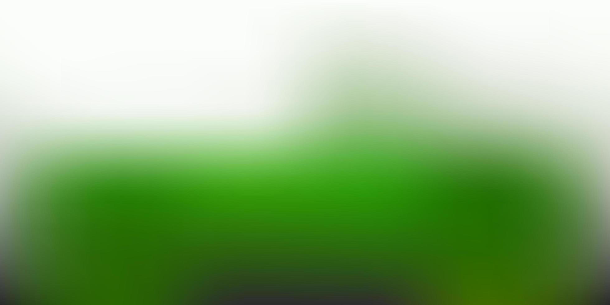sfondo sfocatura astratta vettoriale verde scuro.