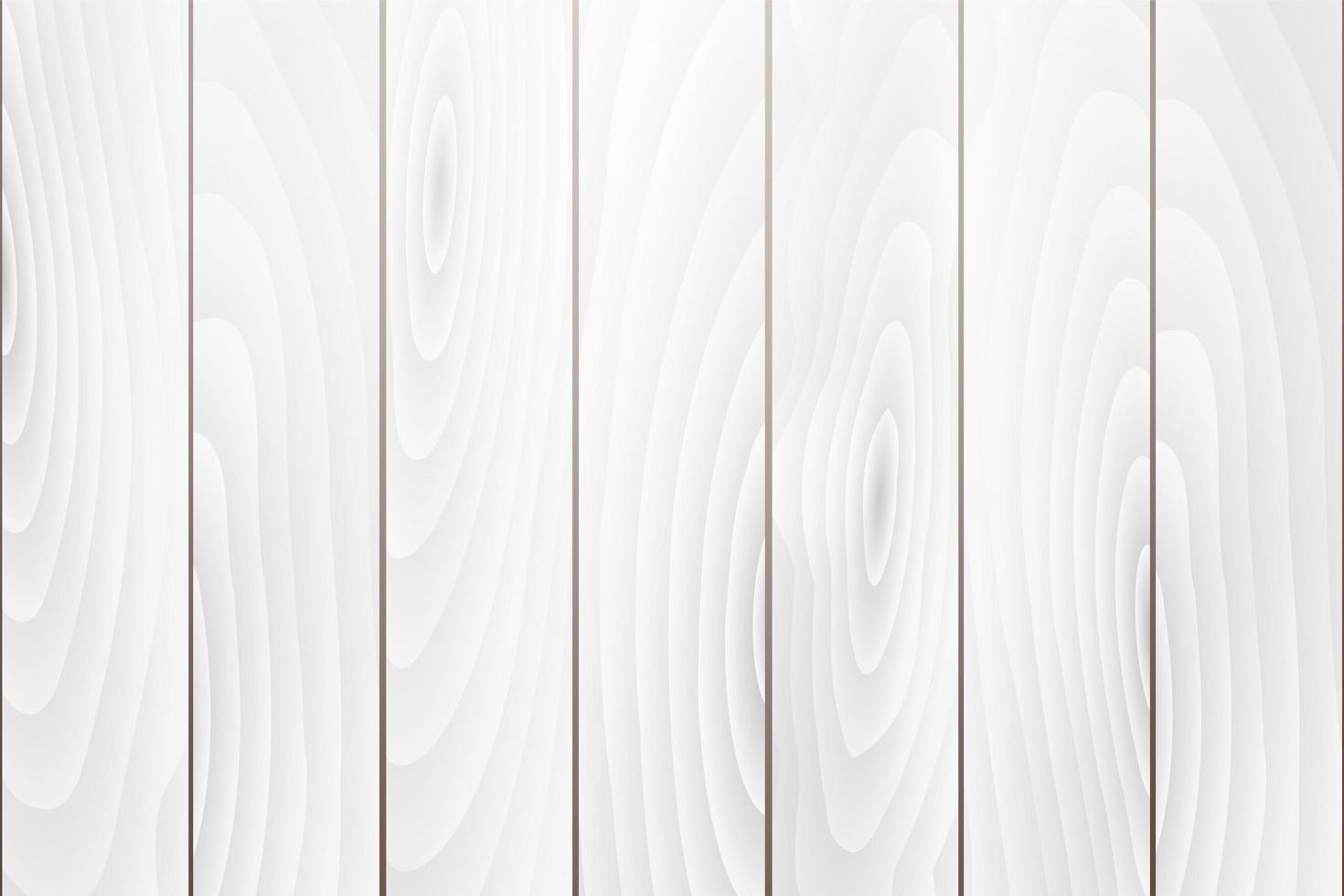 vecchio fondo di struttura di legno bianco vettore