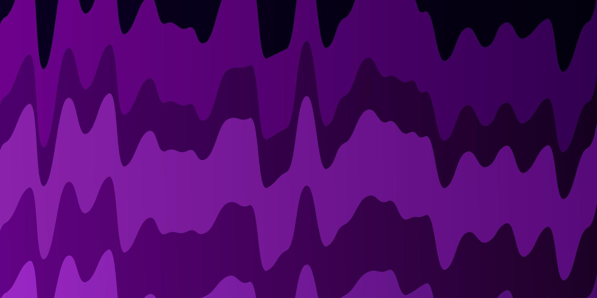sfondo vettoriale viola scuro con linee.