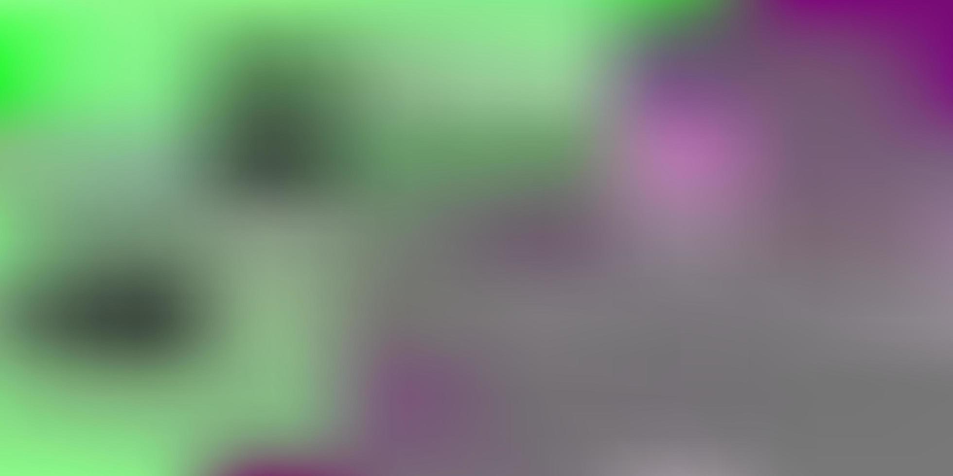 layout di sfocatura sfumata vettoriale rosa chiaro.