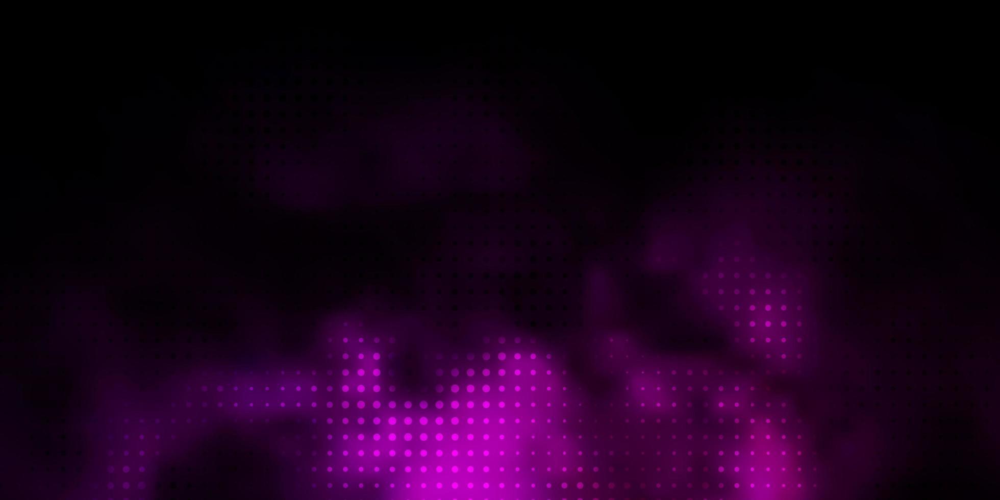 trama vettoriale viola scuro con dischi.