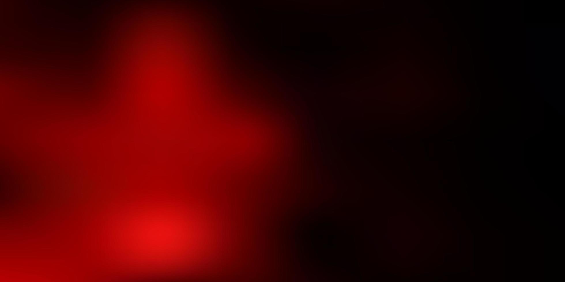 disegno di sfocatura sfumata vettoriale rosso scuro.
