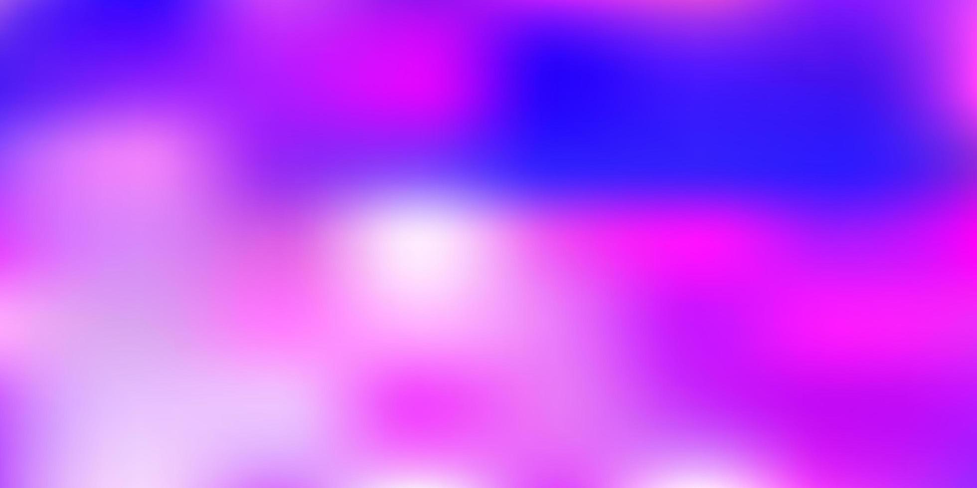 sfondo sfocato vettoriale rosa chiaro, blu.