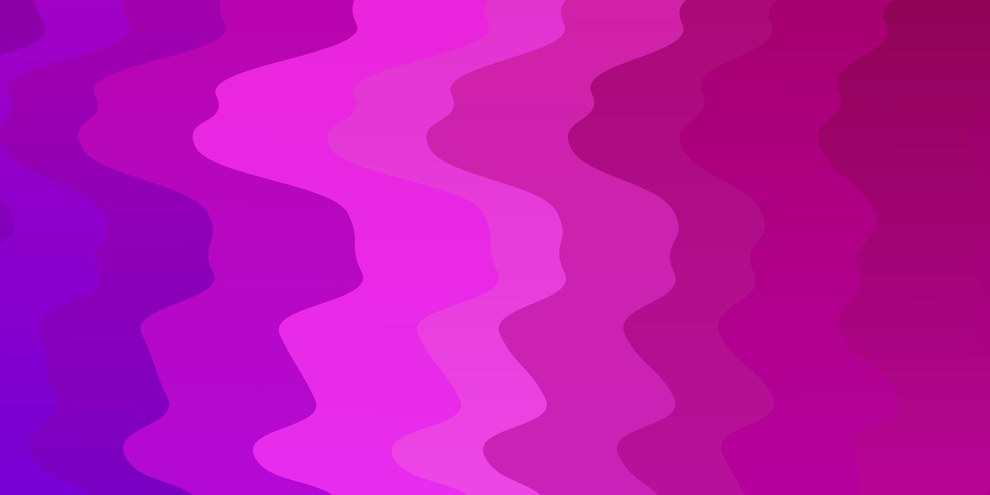 layout vettoriale viola chiaro, rosa con arco circolare.
