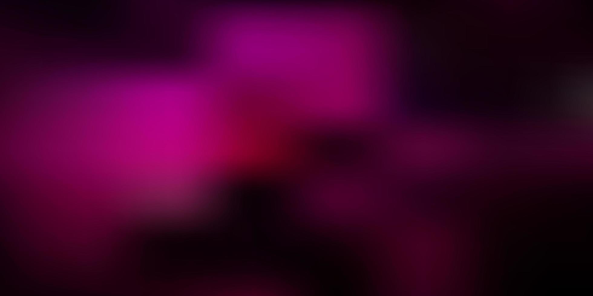trama di sfocatura astratta vettoriale rosa scuro.