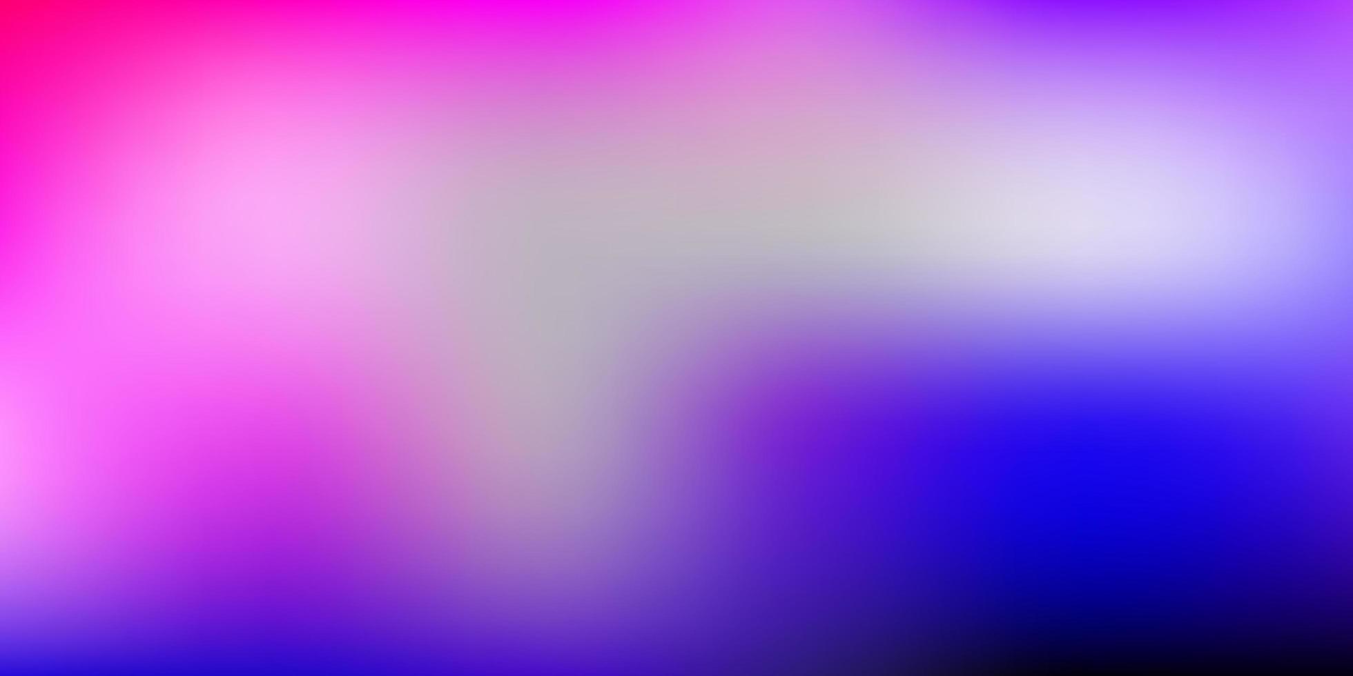 modello di sfocatura gradiente vettoriale viola chiaro, rosa.
