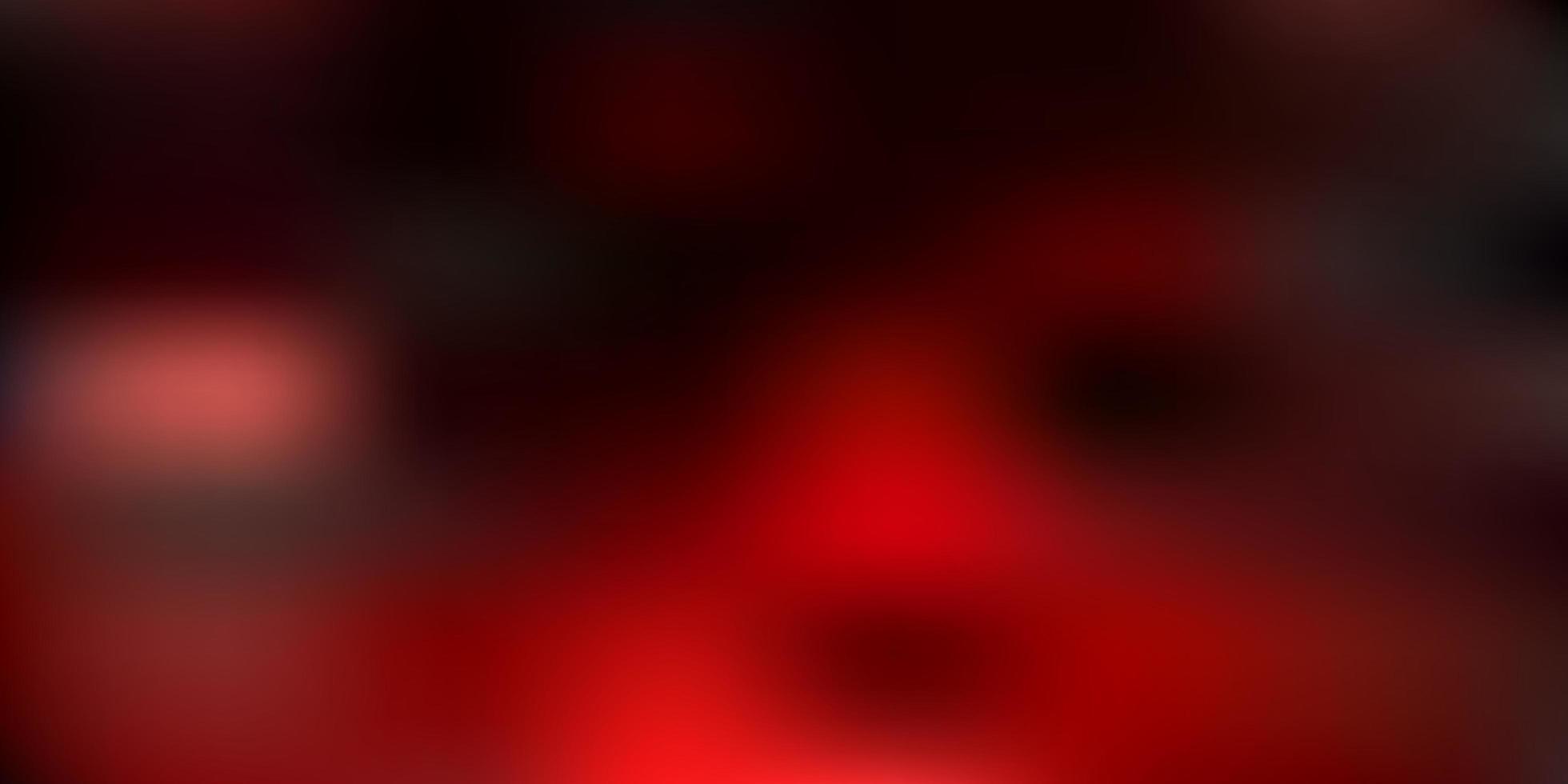 trama di sfocatura astratta vettoriale rosso scuro.