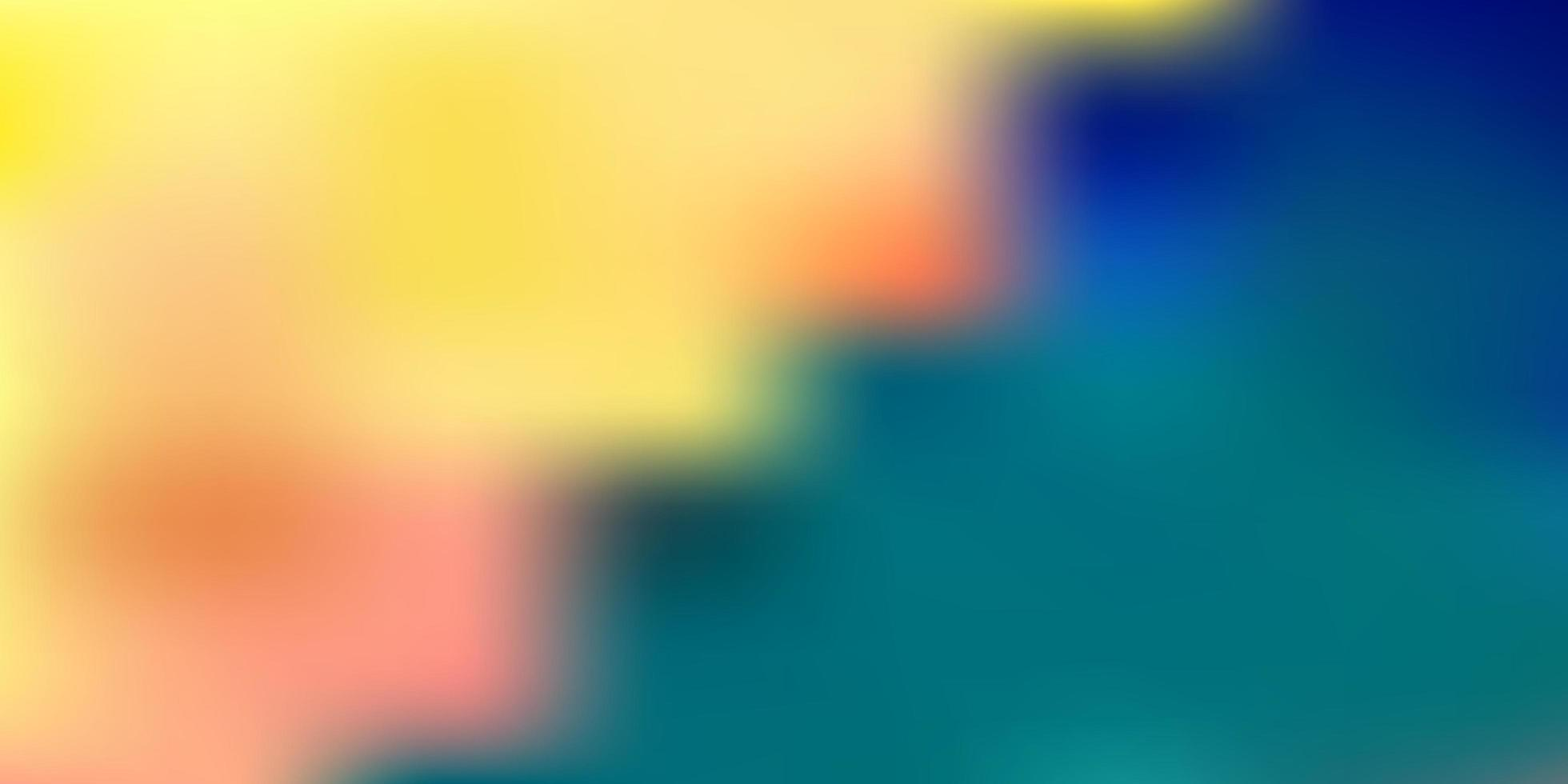 modello di sfocatura sfumata vettoriale blu chiaro.