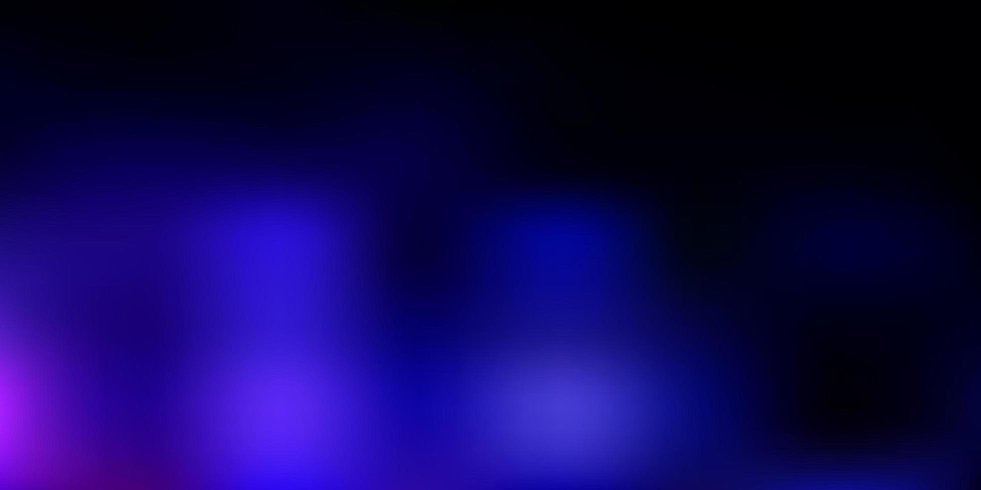 modello di sfocatura vettoriale rosa scuro, blu.
