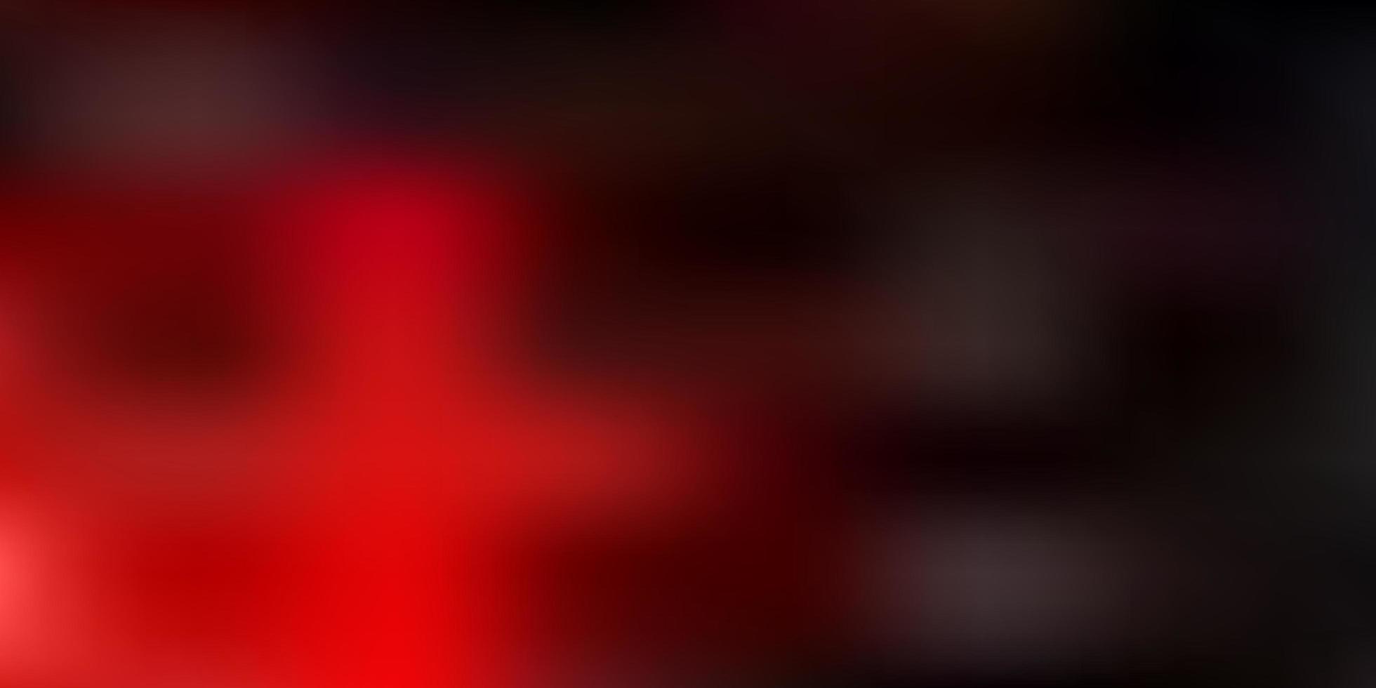 sfondo di sfocatura astratta vettoriale arancione scuro.