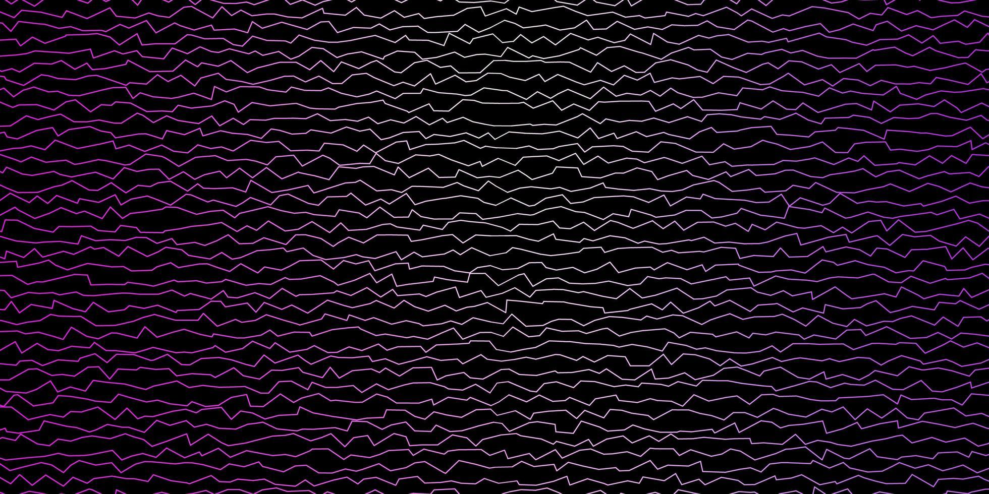 modello vettoriale viola scuro, rosa con linee ironiche.