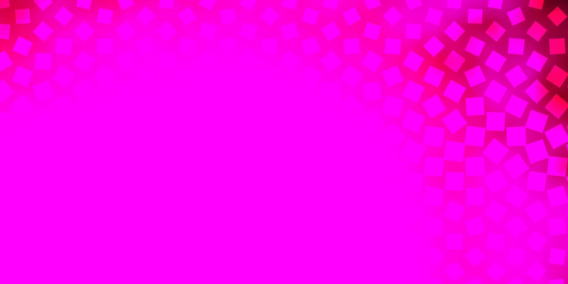 sfondo vettoriale rosa chiaro con rettangoli.
