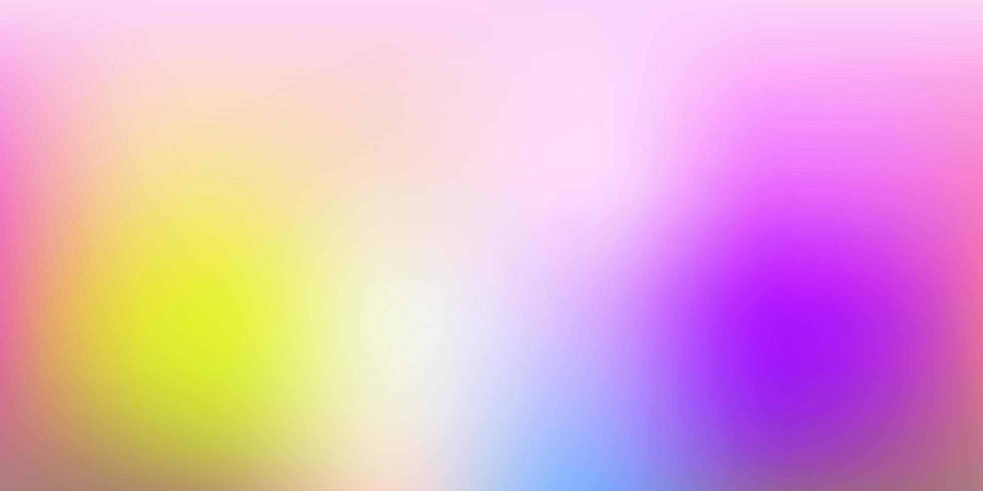 modello sfocato di vettore multicolore chiaro.
