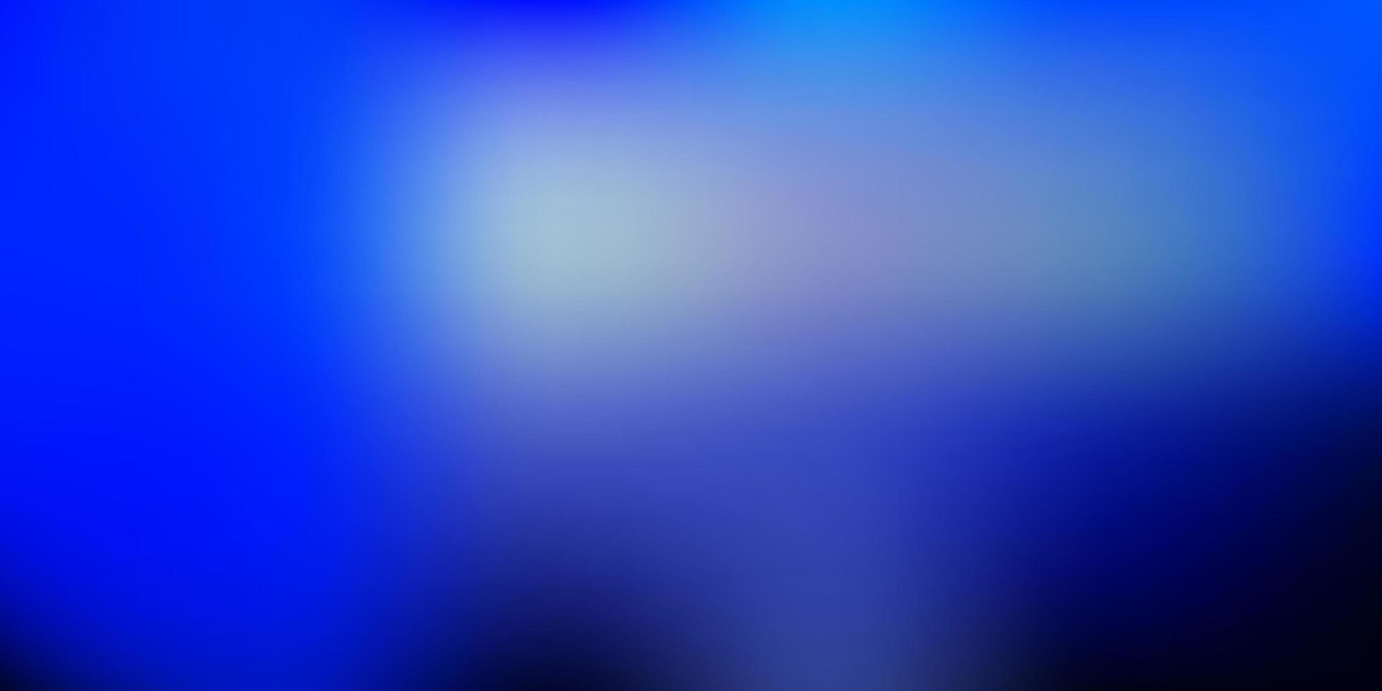 vettore blu scuro sfondo sfocato.
