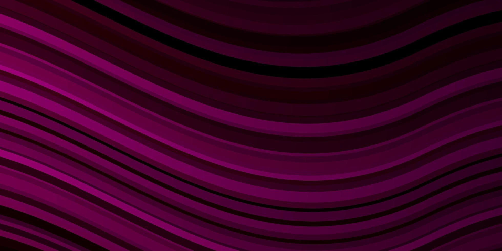 layout vettoriale rosa scuro con curve.