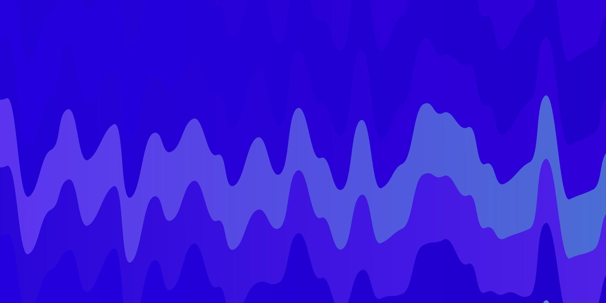 modello vettoriale rosa chiaro, blu con curve.