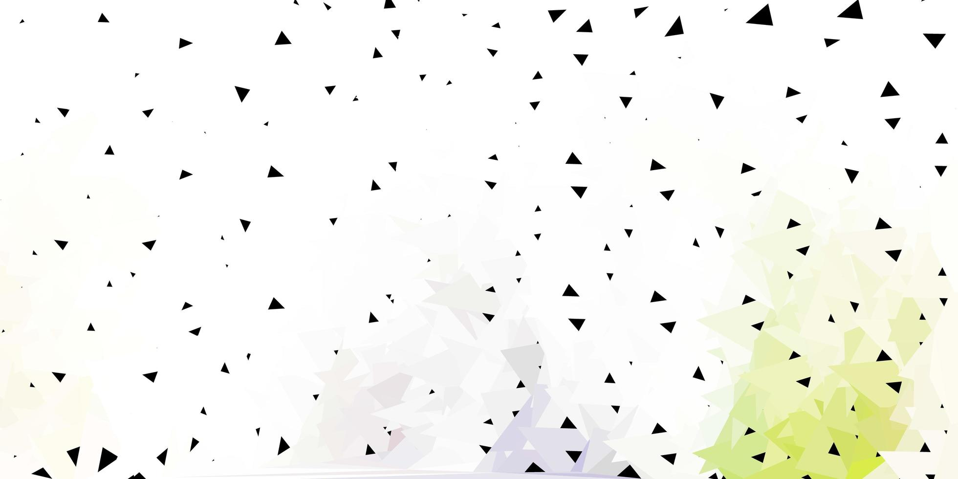 struttura del triangolo astratto di vettore grigio chiaro.