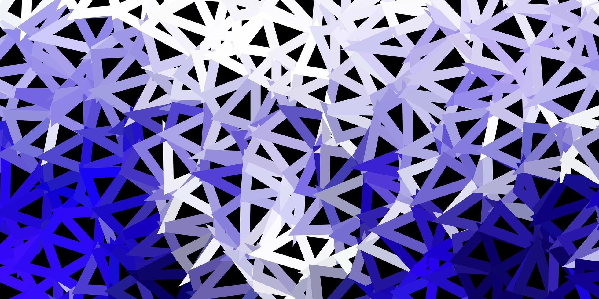 design poligono sfumato vettoriale viola scuro.