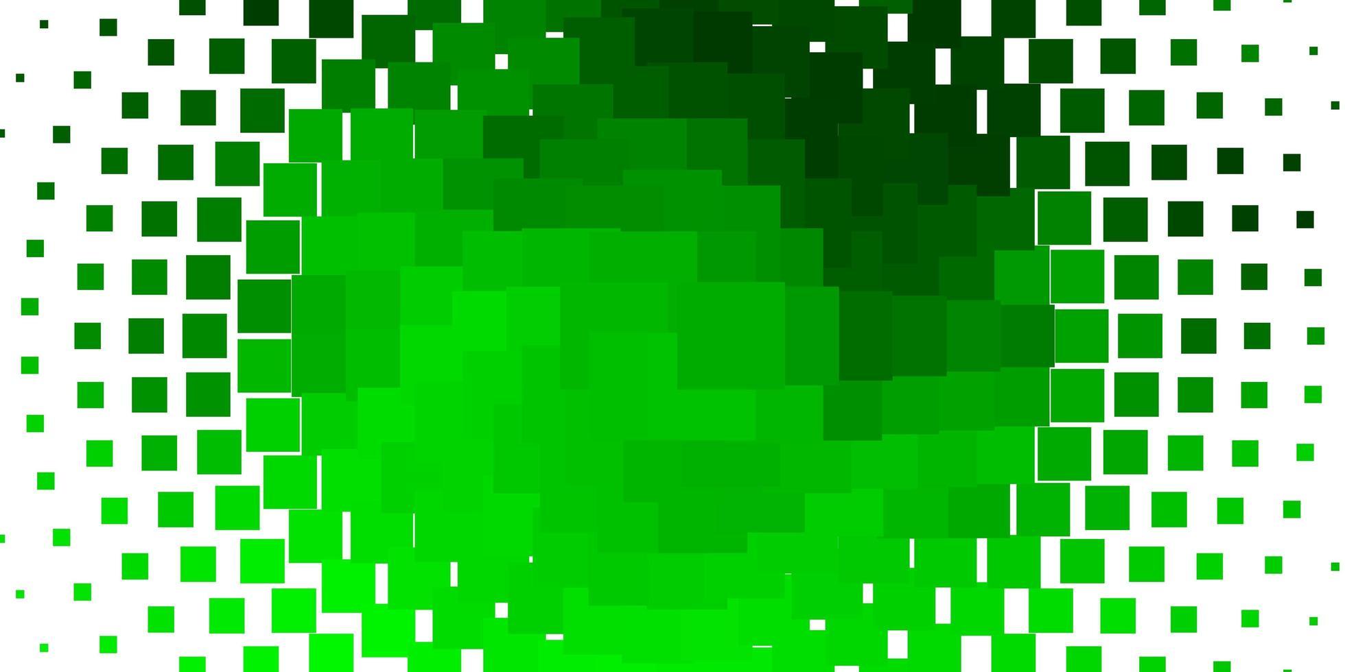 layout vettoriale verde chiaro con linee, rettangoli.