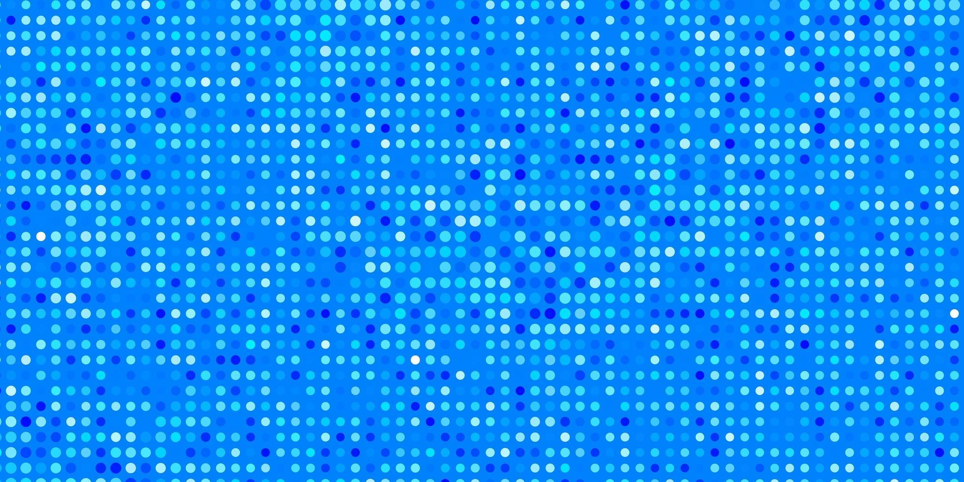 struttura di vettore blu chiaro con cerchi
