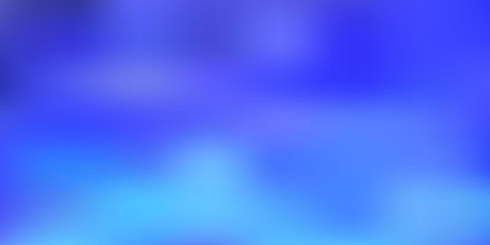 sfondo sfocato sfumato vettoriale blu chiaro.