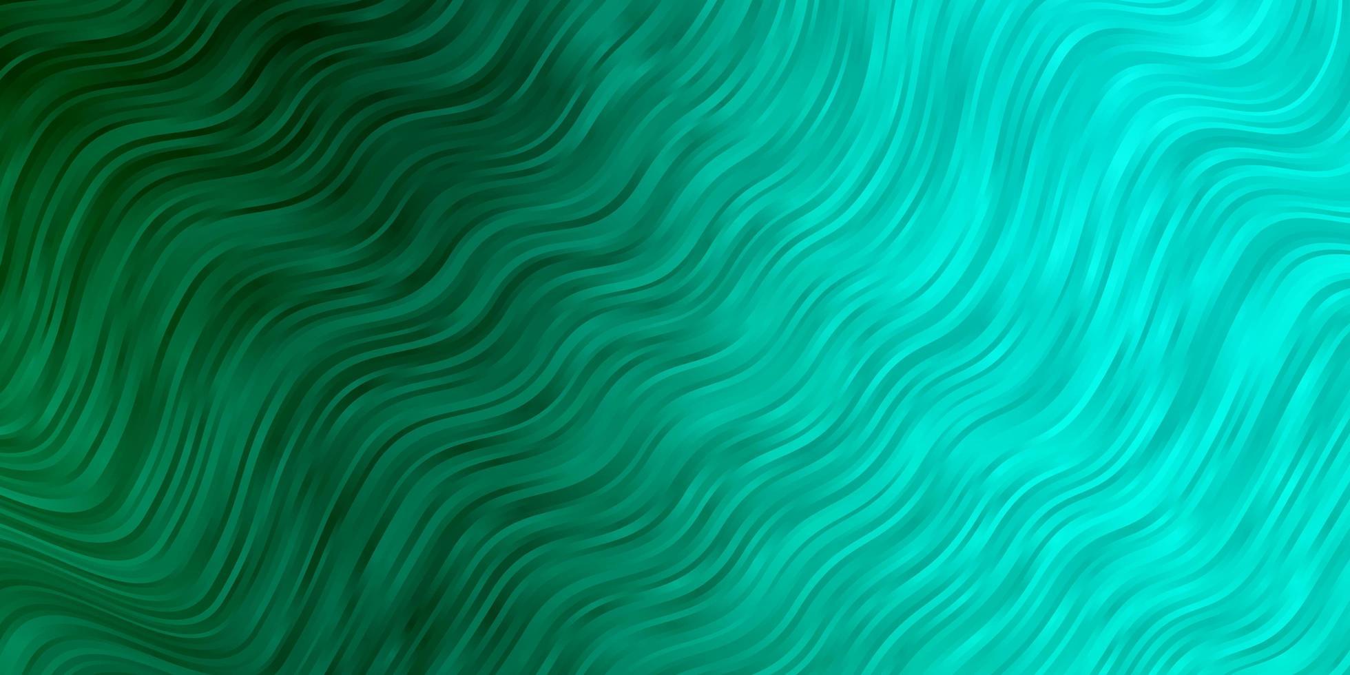 layout vettoriale verde chiaro con arco circolare.