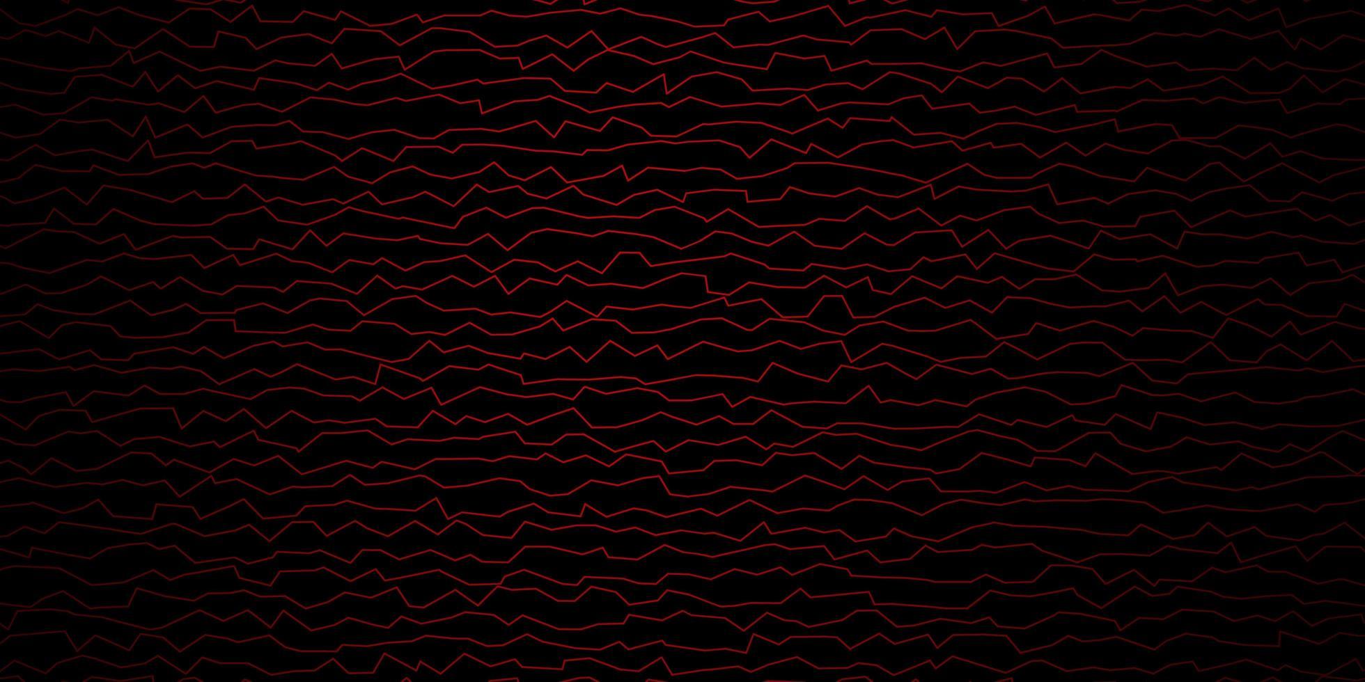 layout vettoriale rosso scuro con arco circolare.