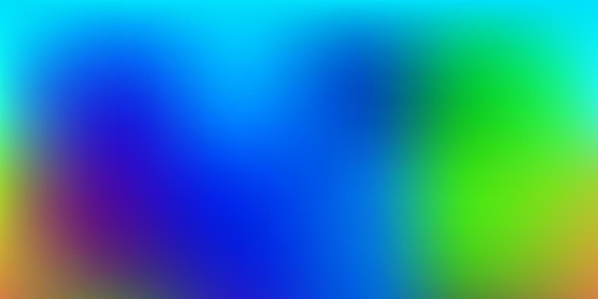 sfondo sfocato vettoriale multicolore chiaro.