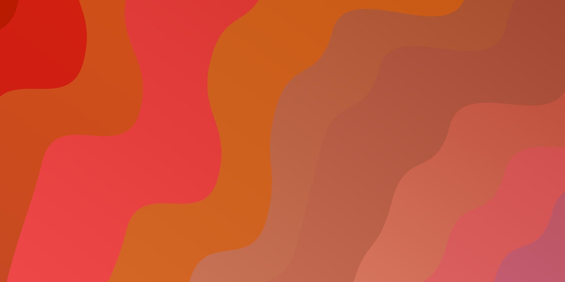 layout vettoriale rosa chiaro, giallo con arco circolare.