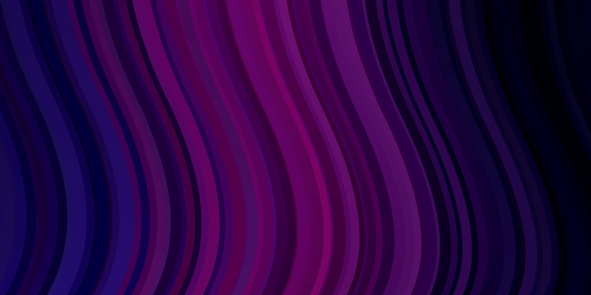 trama vettoriale viola scuro, rosa con linee ironiche.