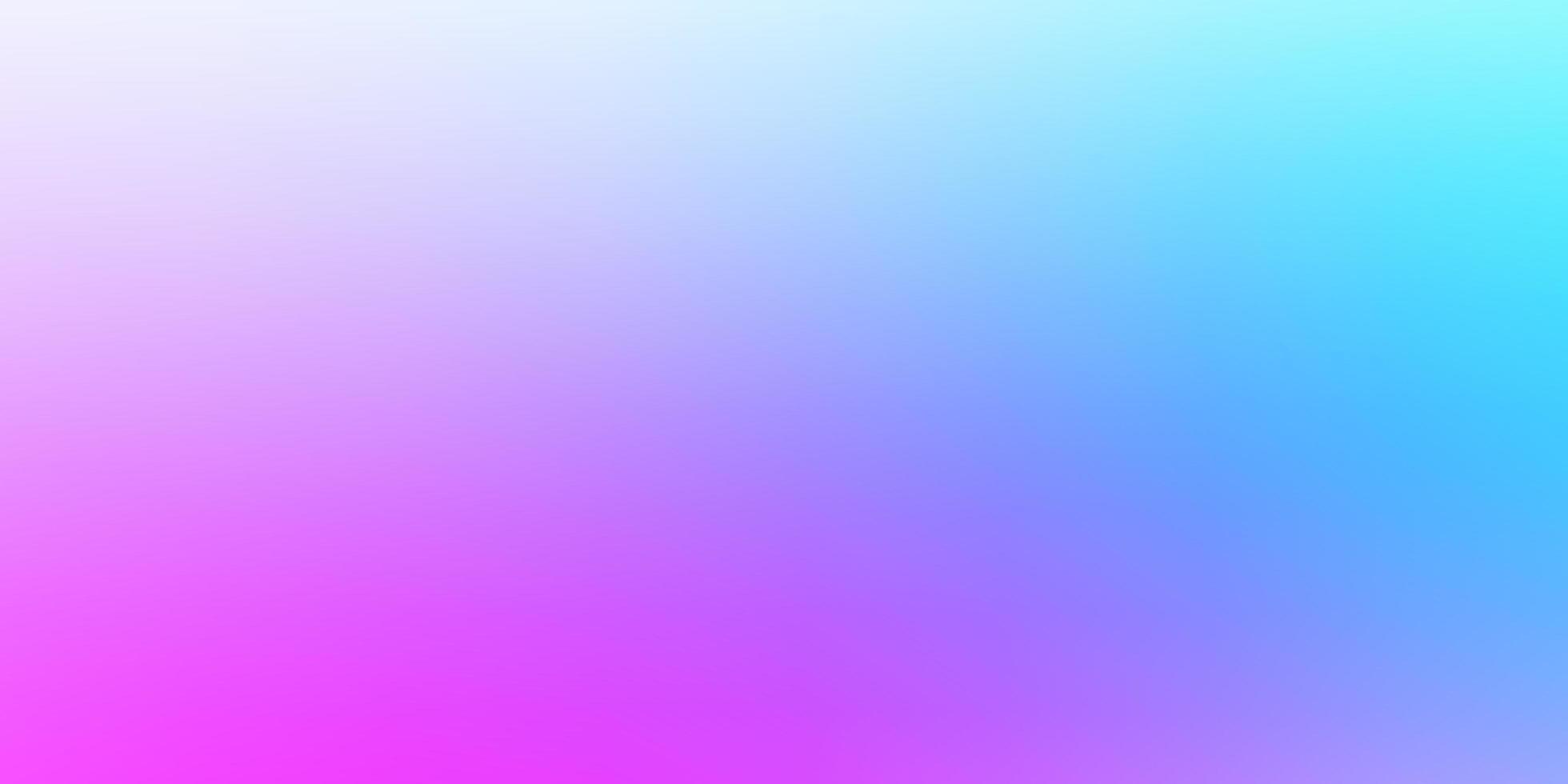 sfondo sfocato astratto vettoriale rosa chiaro, blu.