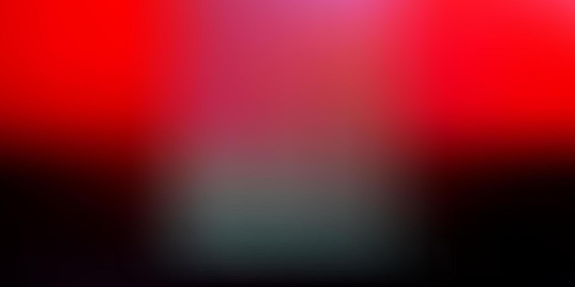 modello sfocato vettoriale rosa scuro, rosso.