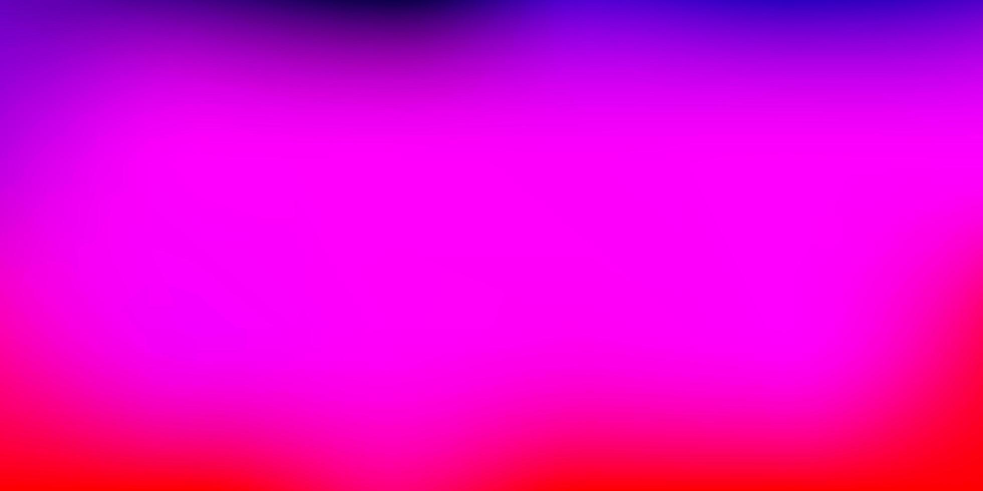 layout di sfocatura gradiente vettoriale viola chiaro, rosa.