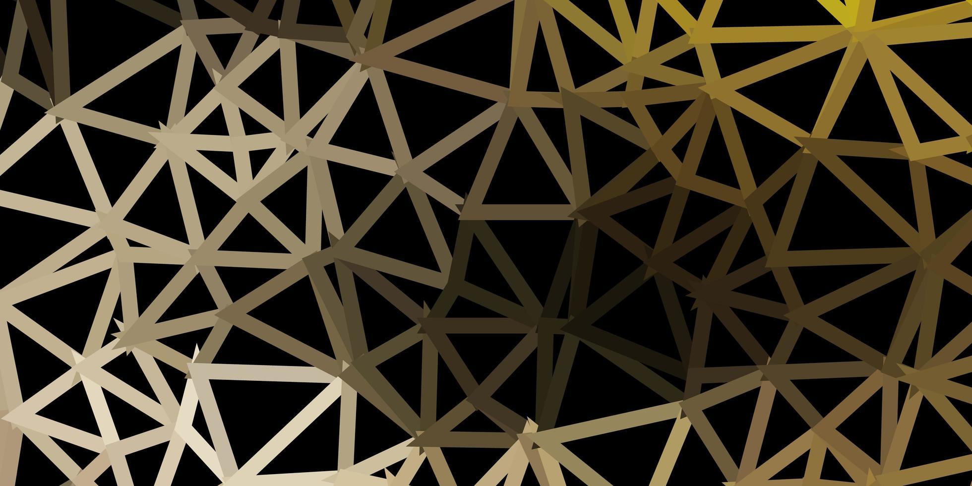 sfondo triangolo astratto vettoriale grigio chiaro.