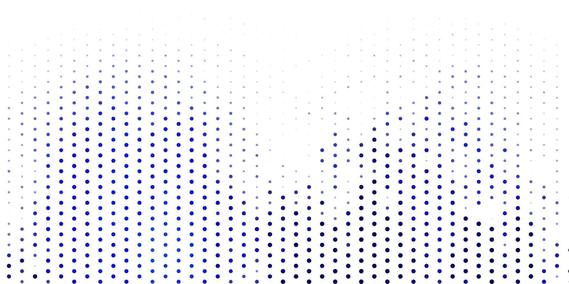 layout vettoriale azzurro con forme circolari.
