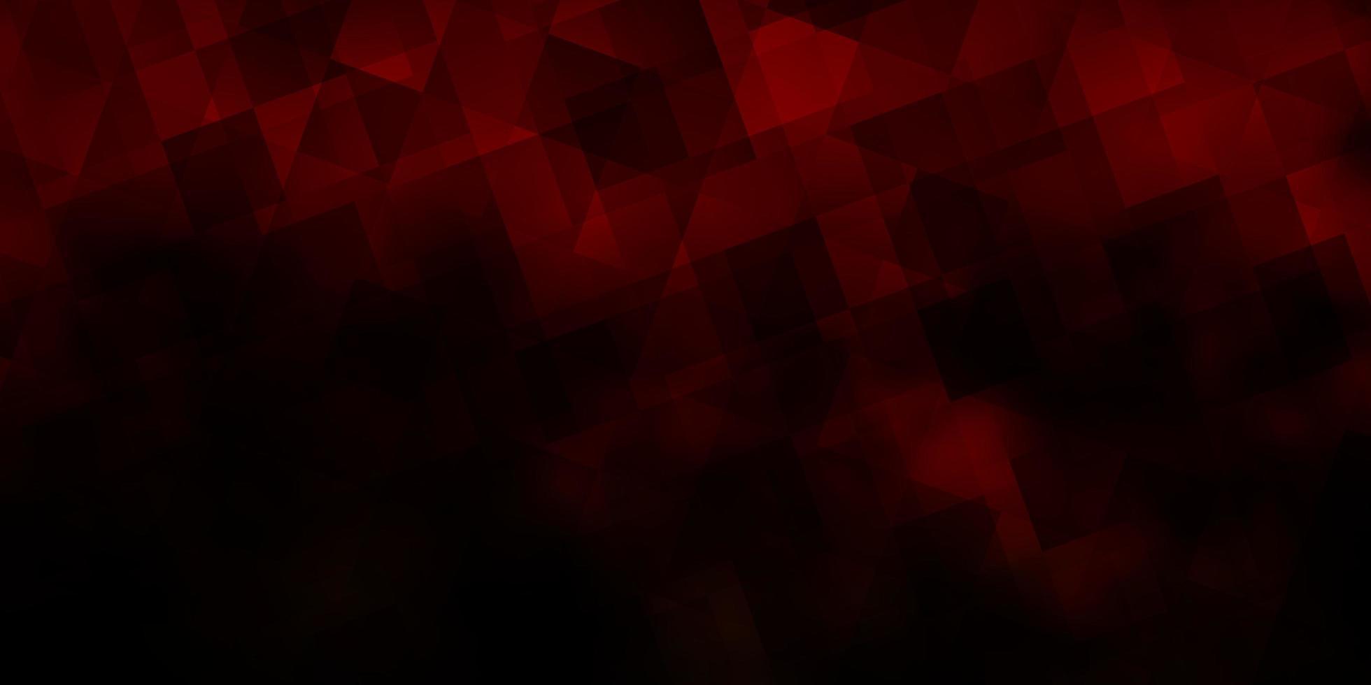 trama vettoriale arancione scuro con stile triangolare.