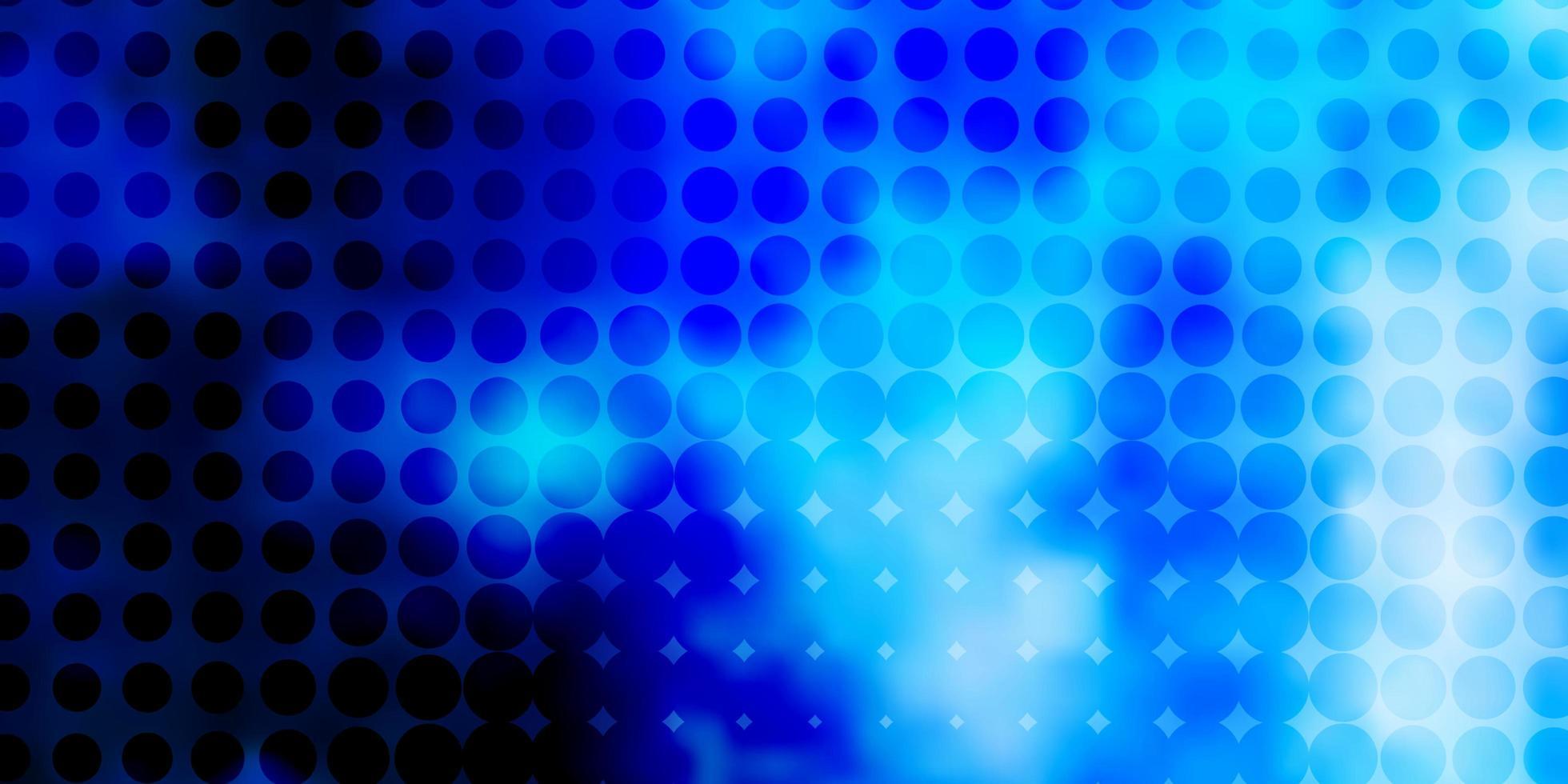 sfondo vettoriale azzurro con puntini