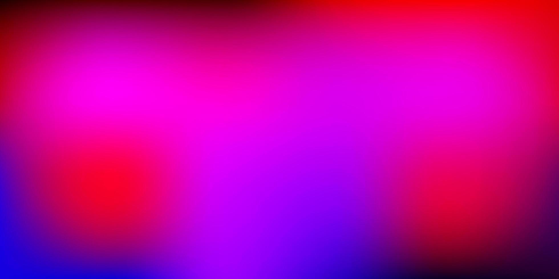 layout sfocato vettoriale rosa chiaro, rosso.