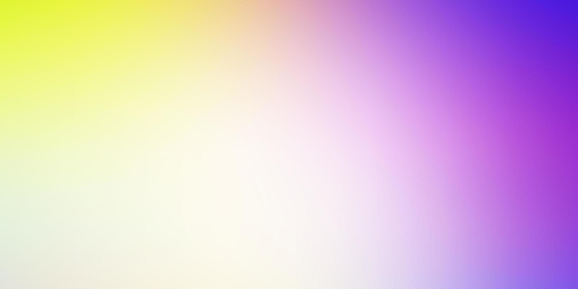 modello colorato sfocato vettoriale multicolore chiaro.