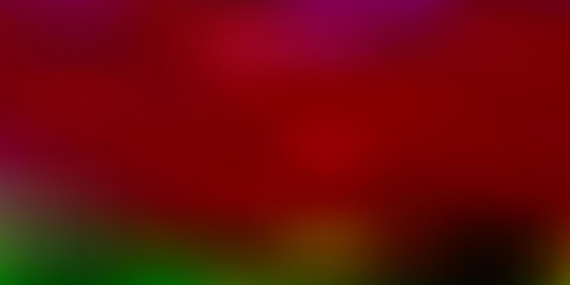 modello di sfocatura astratta vettoriale rosa chiaro, verde.