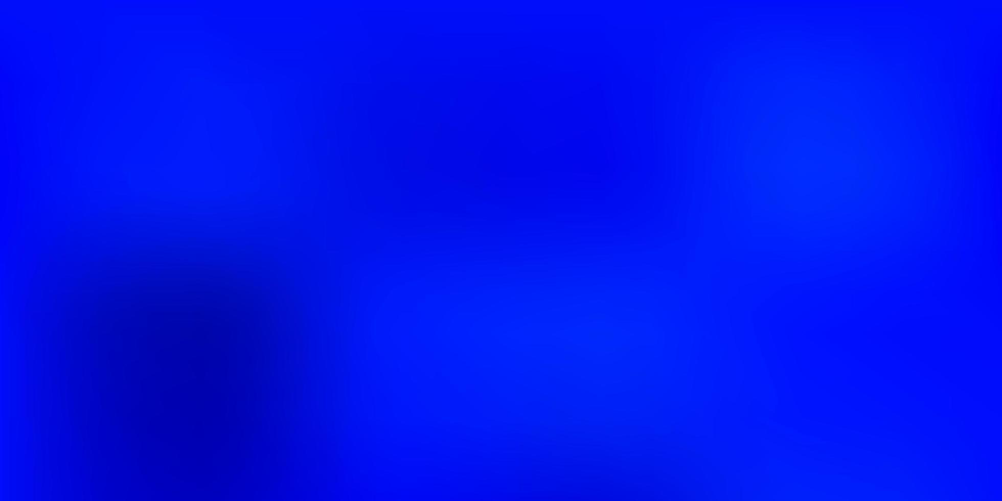 modello di sfocatura vettoriale blu scuro.