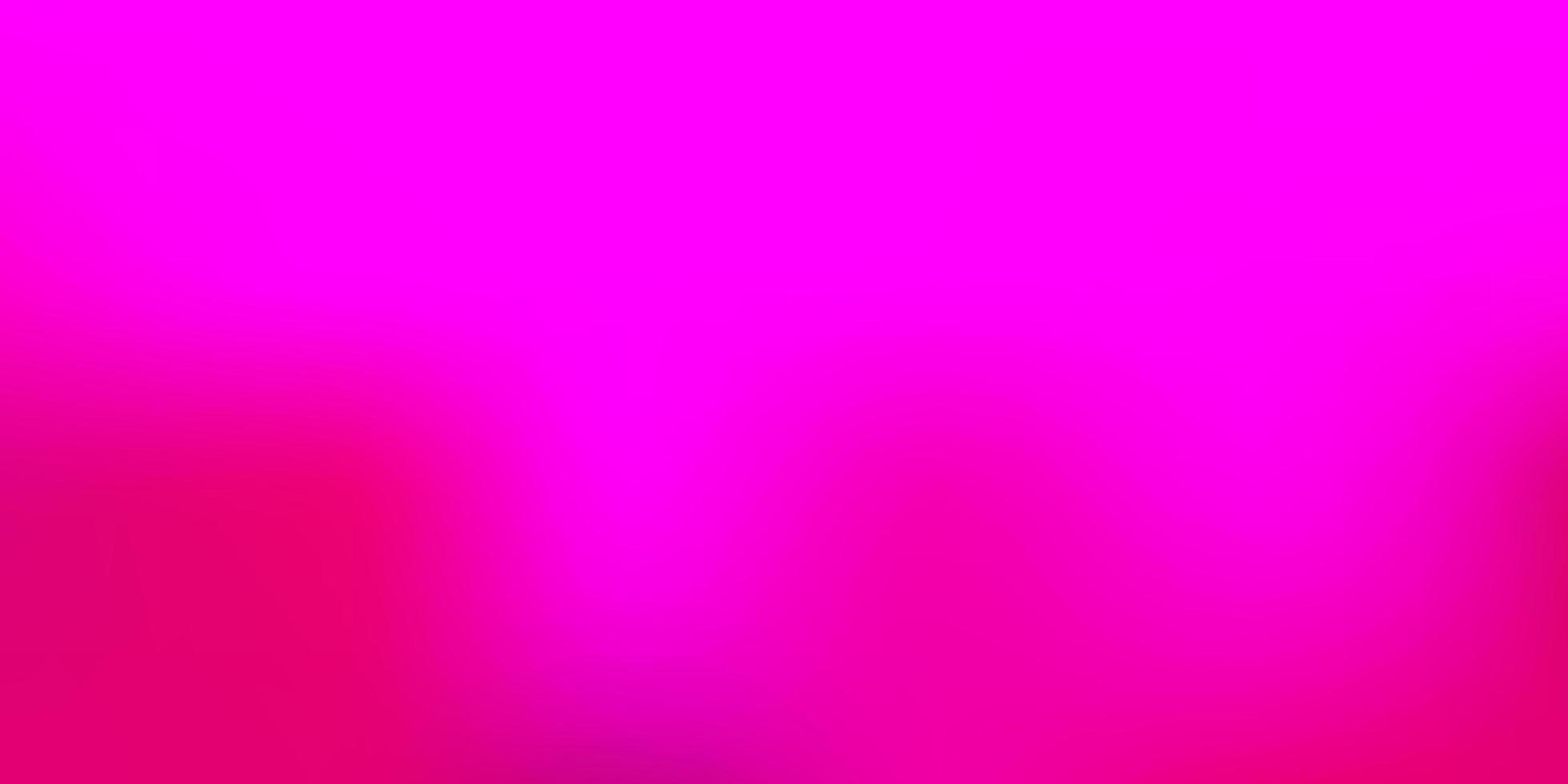 modello di sfocatura vettoriale rosa scuro.