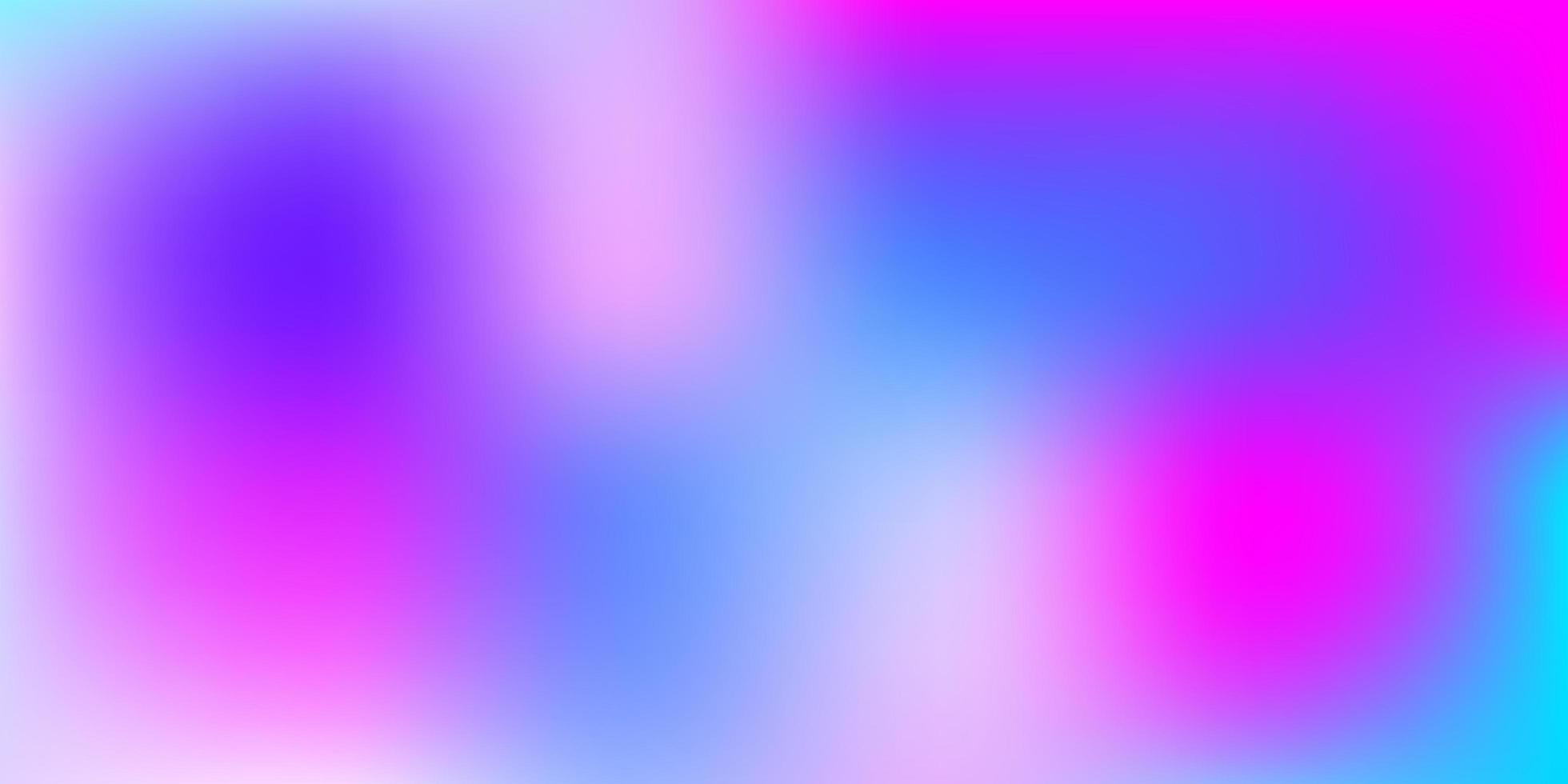 modello di sfocatura vettoriale rosa chiaro, blu.