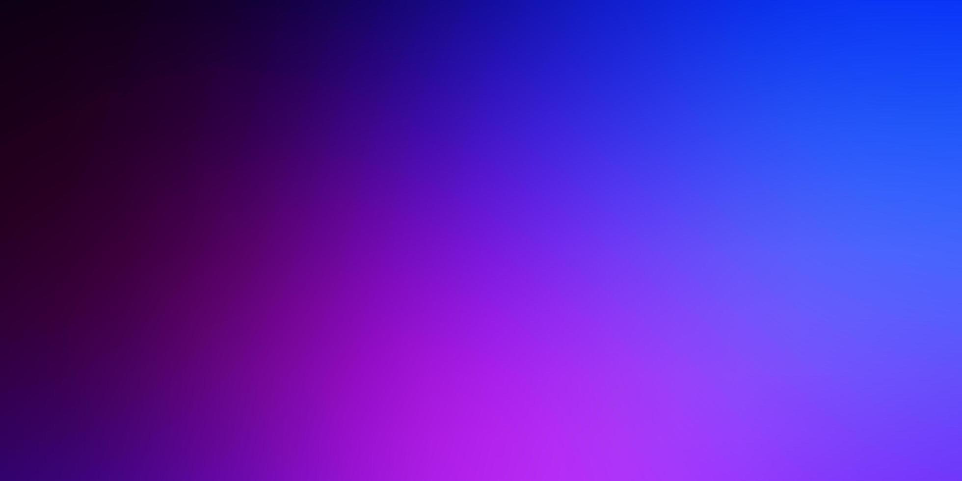 modello luminoso astratto di vettore rosa scuro, blu.