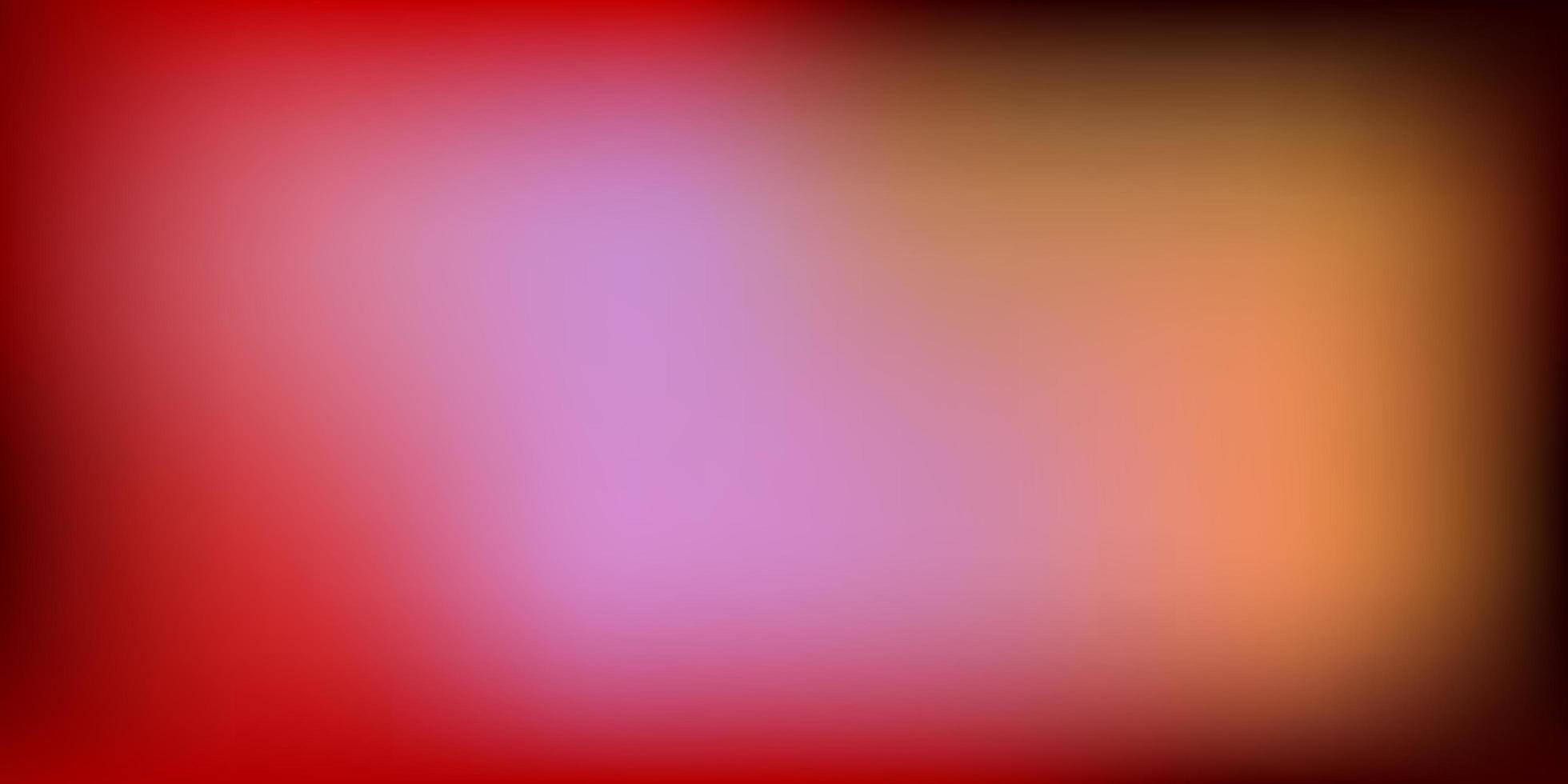 modello di sfocatura vettoriale viola chiaro, rosa.