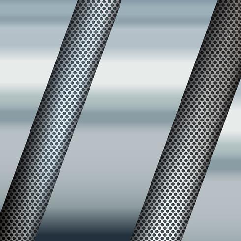 Sfondo texture metallo vettore