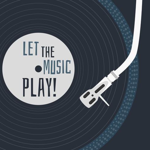 Lascia che la musica giochi Vector