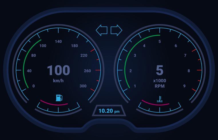 Interfaccia utente Hud e elementi di infografica vettore